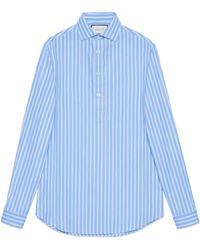 Gucci - Camisa Extragrande de Algodón - Lyst