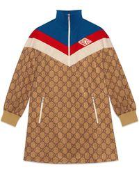 Gucci - Abito in jersey tecnico a stampa GG - Lyst