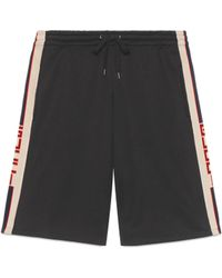 Gucci - Short in jersey tecnico - Lyst