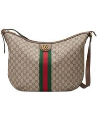 361ea71a9 Lyst - Gucci Pre Owned Vintage Double Belt Bag GG Canvas in Blue