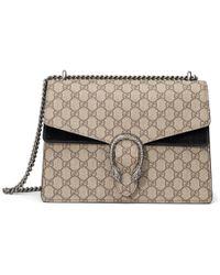 9188a276f84 Lyst - Gucci Dionysus Suede Shoulder Bag in Brown