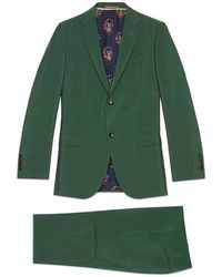 Gucci - Monaco Wool Mohair Suit - Lyst
