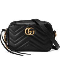 Gucci - Mini-Tasche GG Marmont aus Matelassé - Lyst
