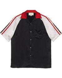 3441d1342 Men's Gucci Bowling - Men's Gucci Bowling Shirts - Lyst