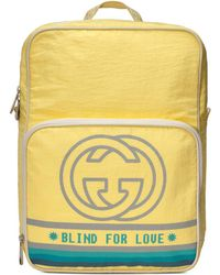 Gucci - Medium Backpack With Interlocking G Print - Lyst