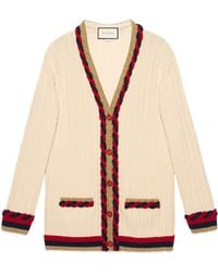 Gucci - Wool And Cashmere Cardigan - Lyst