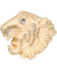 Gucci - Rajah Brooch In Resin - Lyst