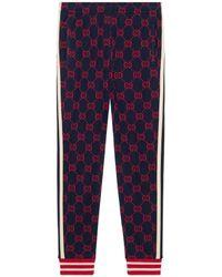 Gucci - Pantalón de Chándal de Jacquard GG - Lyst
