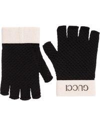 Gucci - Fingerlose Handschuhe in Häkelarbeit - Lyst