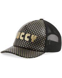 Gucci - Guccy Baseball Hat - Lyst