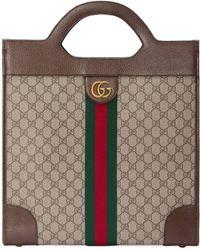 Gucci - Borsa a mano Ophidia in GG media - Lyst