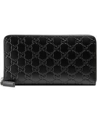 Gucci - Signature Continental Wallet - Lyst