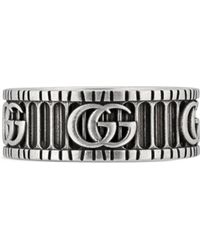 Gucci - Double G Ring - Lyst