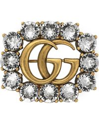Gucci - Women's Silver/gold Pin - Lyst