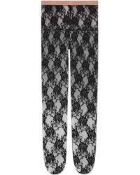 Gucci - Lace Tights - Lyst