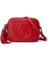 Gucci - Soho Leather Disco Bag - Lyst