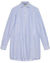 Gucci - Oversized-Hemd mit Taschen - Lyst