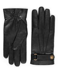 eb090a530c2 Gucci - Gants en cuir - Lyst