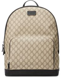 944a4f90a91293 Gucci Gg Supreme Patches Backpack in Black - Lyst