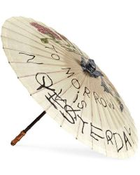 Gucci - Coco Capitán Print Chinese Umbrella - Lyst