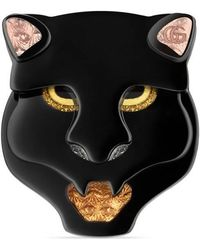 Gucci - Panther Head Ring - Lyst