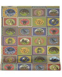 Gucci - Tiger Cards Print Wallpaper - Lyst