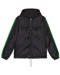 Gucci - Gg Jacquard Nylon Jacket - Lyst