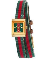 Gucci - G-frame Watch, 14x18mm - Lyst