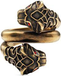 Gucci Tigerkopf-Ring
