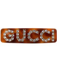 Gucci Crystal Single Hair Barrette