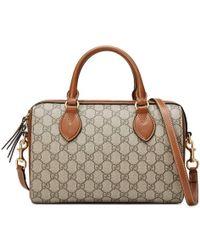d11a8450c37 Lyst - Gucci Soft Signature Top Handle Bag in Blue