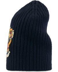 Gucci - Cappello in lana con tigre - Lyst