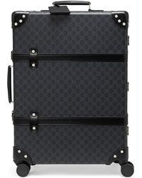 Gucci - Mittelgroßer Globe-Trotter Koffer mit GG - Lyst