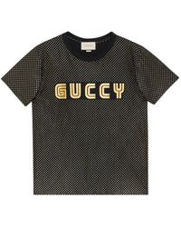 Gucci | Guccy Cotton T-shirt | Lyst