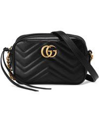 Gucci - Gg Marmont Matelassé Mini Bag - Lyst