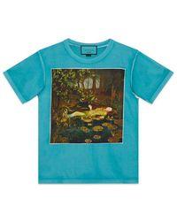 4498ea8e2cc Lyst - Gucci Oversize -dapper Dan T-shirt in Green for Men