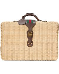 Gucci - Koffer aus Korbgeflecht - Lyst