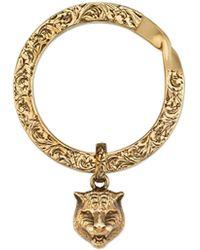 Gucci - Le Marché Des Merveilles Key Ring - Lyst
