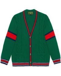 Gucci - Cardigan en laine DIY unisexe - Lyst