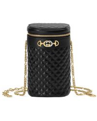 Gucci - Quilted Leather Belt Bag - Lyst
