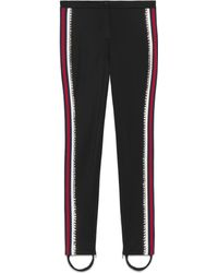 Gucci - Technical Jersey Stirrup Legging With Crystals - Lyst