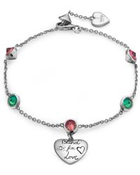 "Gucci - ""Blind for love"" Armband aus Silber - Lyst"