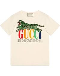 Gucci - T-shirt Cities - Lyst