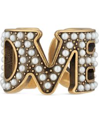 Gucci - Loved Ring With Pearls - Lyst