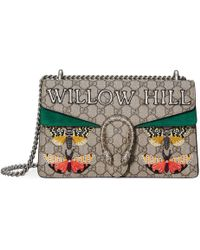 Gucci - Willow Hill Dionysus Embroidered Shoulder Bag - Lyst