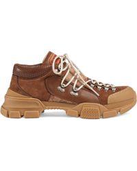 Gucci - Sneaker Flashtrek GG - Lyst