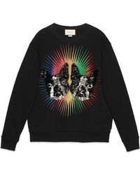 Gucci - Oversize Sweatshirt With Bosco And Orso - Lyst