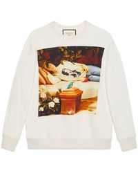 Gucci - Hallucination Print Sweatshirt - Lyst
