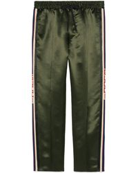 Gucci - Acetate Jogging Pant With Stripe - Lyst