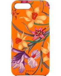 Gucci - Funda para iPhone 8 Plus Estampado Flora - Lyst